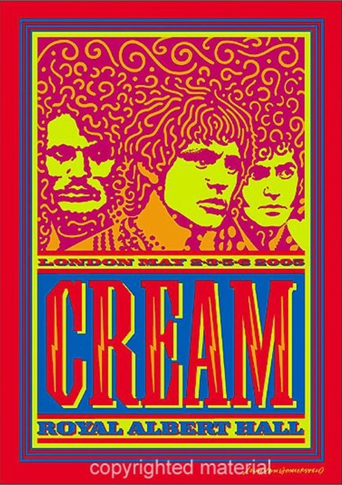 Cream: Royal Albert Hall: London May 2-3-5-6 2005 (2 DVD)