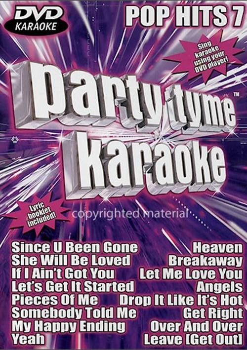 Party Tyme Karaoke: Pop Hits 7