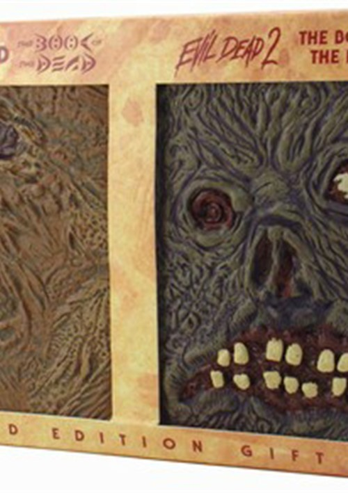 Evil Dead 1 & 2 Double Book Limited Edition Gift Set