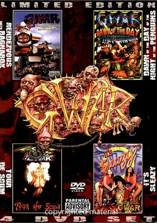 GWAR: Limited Edition Four DVD Set