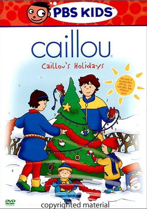 Caillou: Caillous Holidays