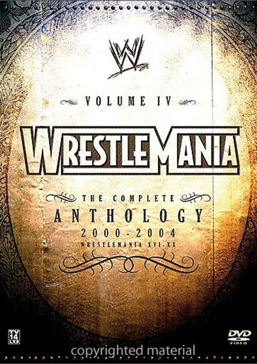 WWE: Wrestlemania Volume 4: 16-20