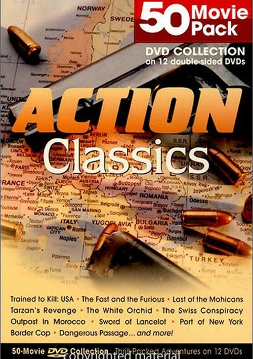 Action Classics: 50 Movie Pack