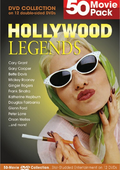 Hollywood Legends: 50 Movie Pack