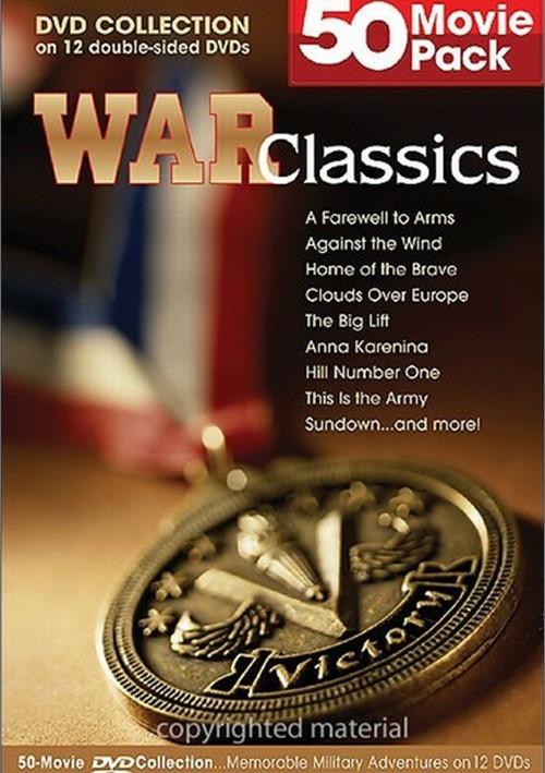 War Classics: 50 Movie Pack