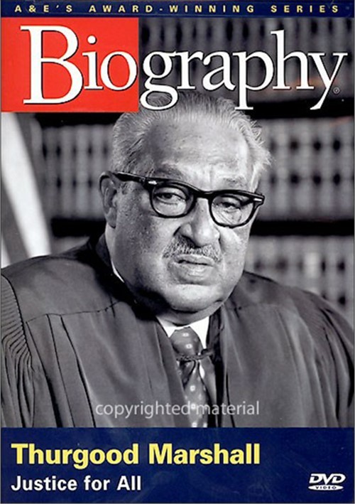 biography of thurgood marshall Thurgood marshall, the great-grandson of slaves, was the first african american justice appointed to the united states supreme court, where he served from 1967 to 1991 earlier in his career, marshall was a pioneering civil rights attorney who successfully argued the landmark case brown v board of.
