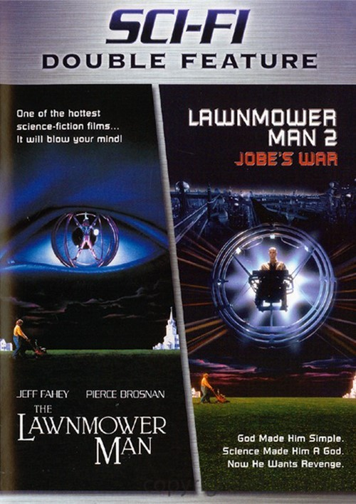 Sci-Fi Double Feature: The Lawnmower Man / Lawnmower Man 2