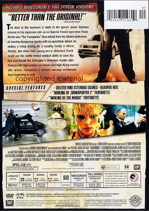 Transporter 2 - Blu-ray - Catawiki |Transporter 2 Dvd Cover