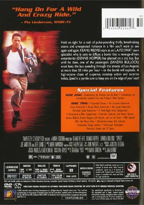 speed  2 disc collector u0026 39 s edition  dvd 1994