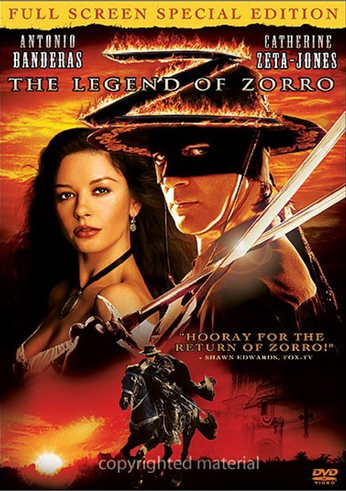 Legend Of Zorro, The (Fullscreen)