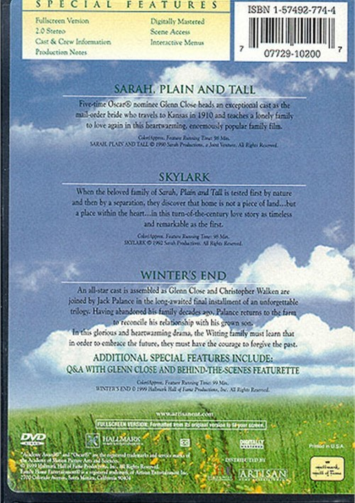 Sarah Plain Amp Tall The Dvd Collection Dvd 1990 Dvd