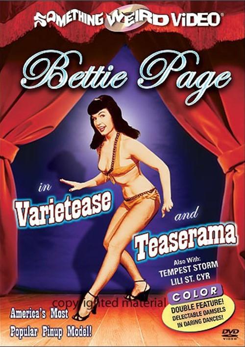 Bettie Page: Varietease / Teaserama