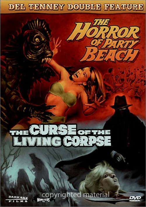 Horror Of Party Beach, The / The Curse Of The Living Corpse (Double Feature)