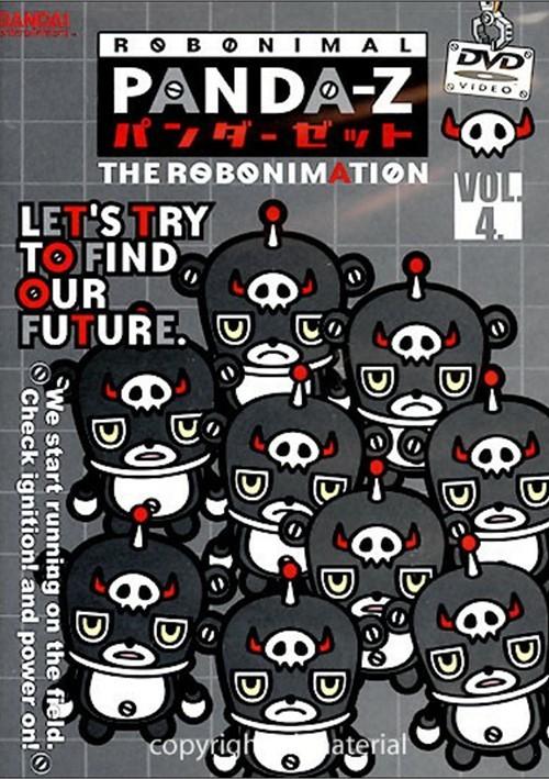 Panda-Z: The Robonimation - Volume 4
