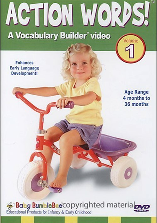 Bee Smart Baby: Action Words - Volume 1