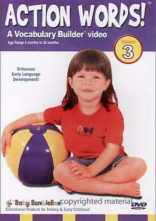 Bee Smart Baby: Action Words - Volume 3