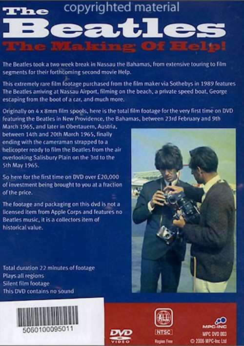 beatles help blu ray review