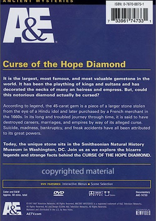 the curse of the hope diamond If you are superstitious, then between not opening an umbrella indoors and avoiding black cats, you've likely heard about the hope diamond curse for those who haven't, the legend goes something like this—a french jeweler named travernier, while exploring india, stole a massive 112 carat blue.
