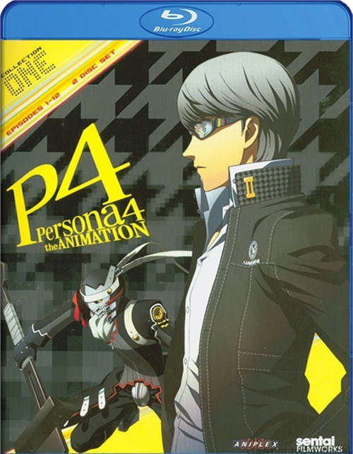 Persona 4: Collection 1 Blu-ray