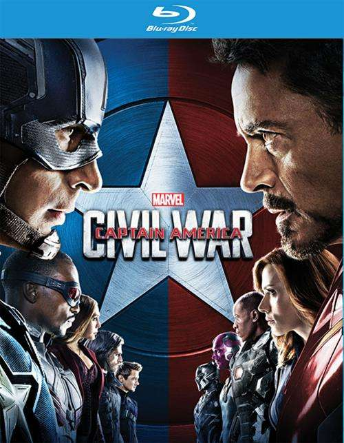 Captain America: Civil War (Blu-ray) Blu-ray