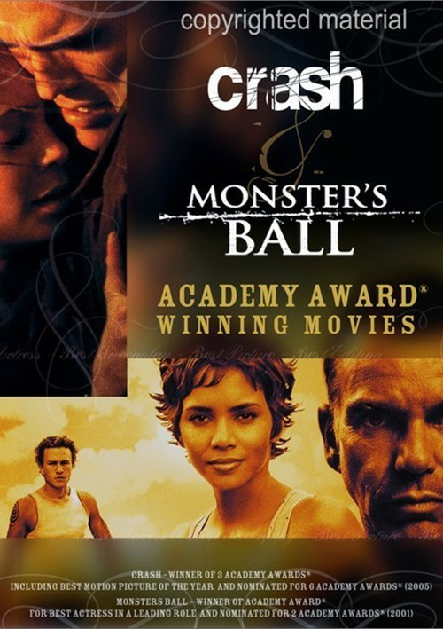 academy award winning movies crash monster 39 s ball dvd