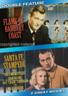 Flame Of Barbary Coast / Santa Fe Stampede Movie