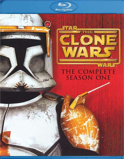Star Wars: The Clone Wars - The Complete Season One Blu-ray