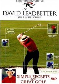 David Leadbetter: Simple Secrets For Great Golf Movie