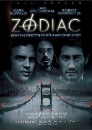 Zodiac (Fullscreen) Movie