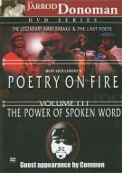 Poetry On Fire: Volume 3 Movie