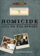 Homicide: Life On The Street - The Complete Season 5 Movie