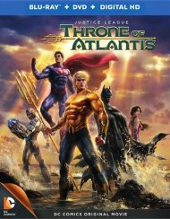 Justice League: Throne Of Atlantis (Blu-ray + DVD + UltraViolet) Blu-ray