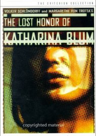 Lost Honor Of Katharina Blum, The: The Criterion Collection Movie