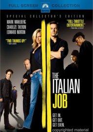 Italian Job, The (Fullscreen) Movie