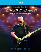 David Gilmour: Remember That Night Blu-ray