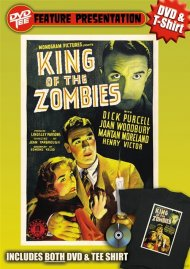 King of the Zombies DVDTee (XL) Movie