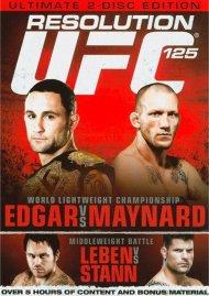 UFC 125: Resolution Movie