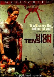 High Tension: Unrated (Widescreen) Movie