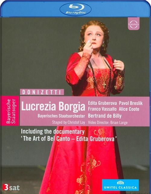 Donizetti: Lucrezia Borgia Blu-ray
