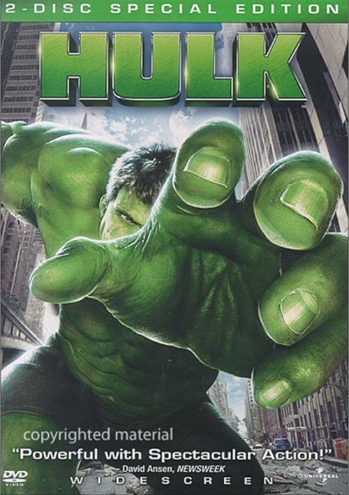 Hulk, The: Special Edition (Widescreen) Movie