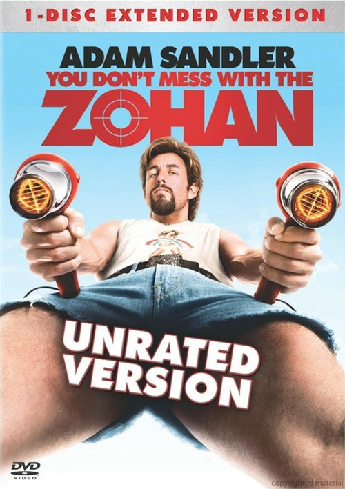 You Dont Mess With The Zohan: Unrated Movie