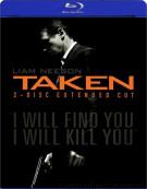 Taken: 2 Disc Extended Cut Blu-ray