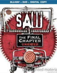Saw: The Final Chapter - Unrated (Blu-ray + DVD + Digital Copy) Blu-ray