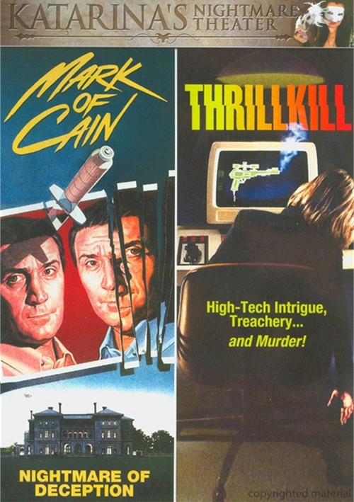 Mark Of Cain / Thrillkill (Double Feature) Movie