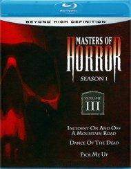 Masters Of Horror: Season One - Volume Three Blu-ray