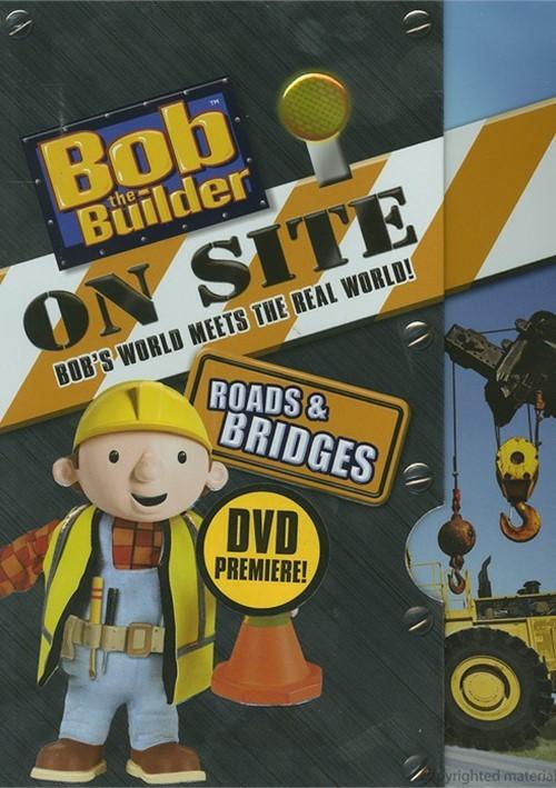 Bob The Builder: On Site - Roads & Bridges Movie