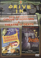 Circus Of Horrors / Theatre Of Death (Drive-In Double Features) Movie