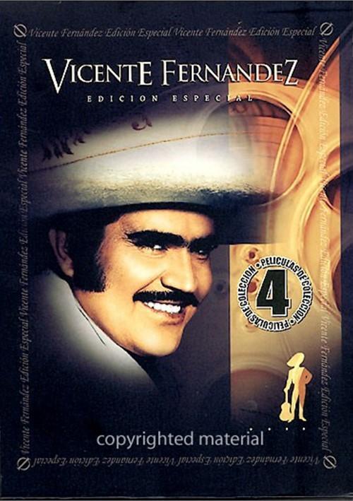 Vicente Fernandez: Edicion Especial (4 Pack) Movie