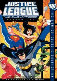 Justice League Unlimited: The Complete First Season Movie