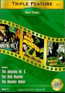 Horror Classics: Triple Feature - Volume 12 Movie